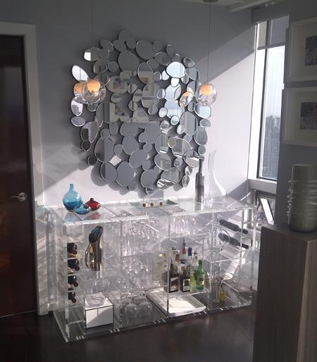 Clear Acrylic Bar